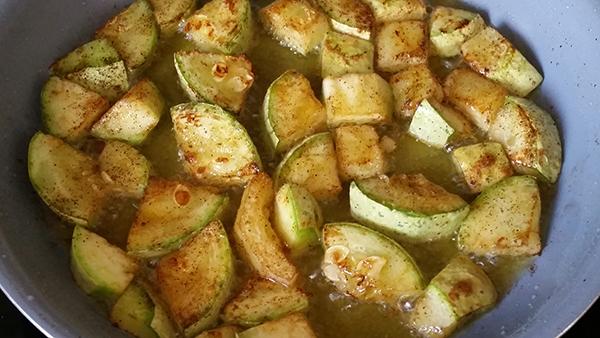 stewed squash frying 600w